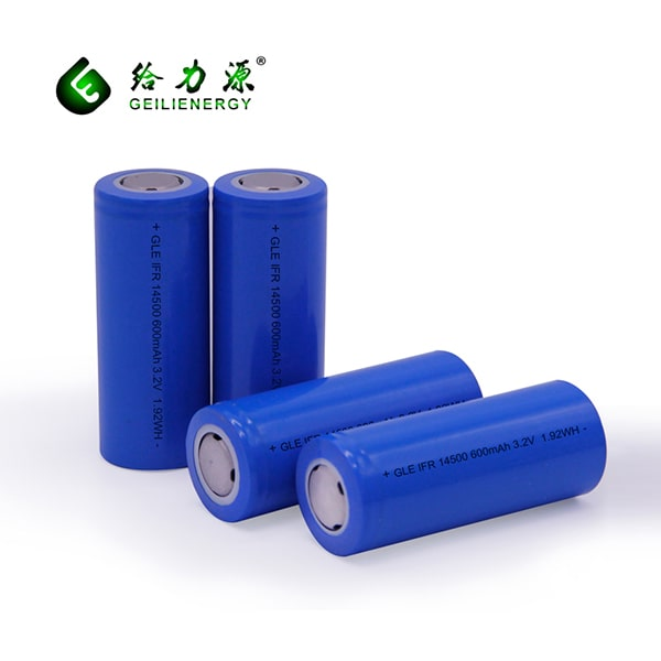 14500 LiFePO4 (LFP) Battery Cell